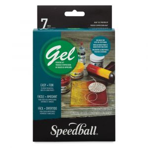 Speedball Akua Gel Printing Kit 7 Piece