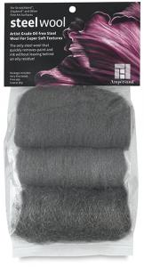 Ampersand Artist-Grade Oil-Free 3PCS Steel Wool