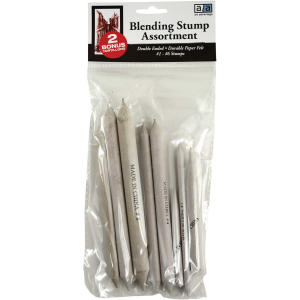 Art Advantage Assorted Blending Stumps 6 piece Set