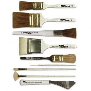 Bob Ross Artists Oil Painting Brushes