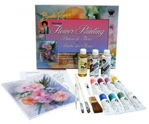 Bob Ross Floral Paint Set