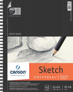 """Canson Sketch Pad Side Wire 9"""" x 12"""""""