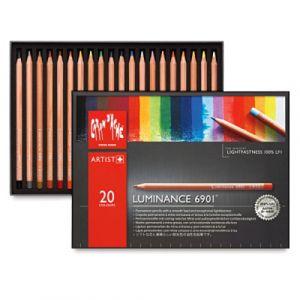 Caran d'Ache Luminance 6901 Pencil Set-20 Colours