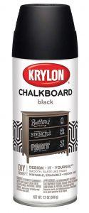 Krylon Spray Paint Black Chalkboard 12 oz Can