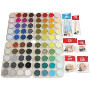 Pan Pastel Complete 80-Colour Set (Includes 4 Large Trays)
