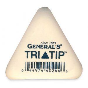General's Tri-Tip Soft White Eraser