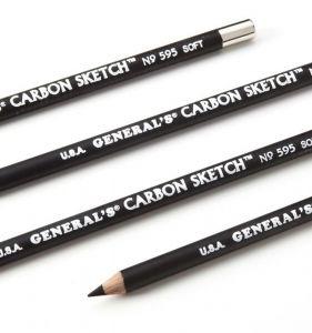 General's Carbon Sketch Pencils