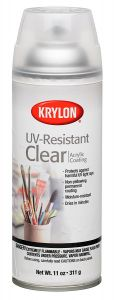 Krylon UV Resistant Clear Acrylic Coating Spray Gloss, 11 oz