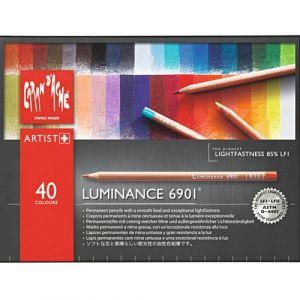 Caran d'Ache Luminance 6901 Pencil Set-40 Colours
