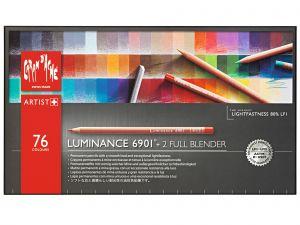 Caran d'Ache Luminance 6901 Pencil  Set-76 Colours