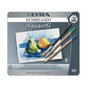 Lyra Rembrandt Aquarell - 24 Pencils