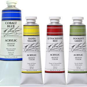 M Graham Professional Acrylic Paint Assortment