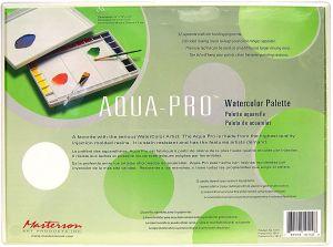 Masterson Aqua-Pro Watercolour Palette - 16 X 12 X 1-3/4 Inches