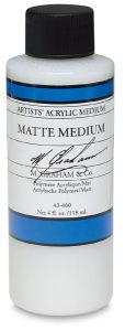 M Graham Artists' Acrylic Matte Medium - 4 oz