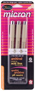 Micron Archival Set of 3