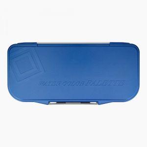 Mijello Fusion Airtight/Leak-Proof Watercolour Palette 18-Wells Blue