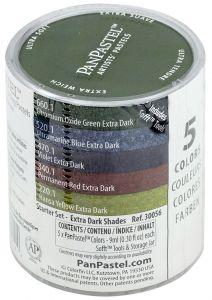 Pan Pastel Extra Dark Shades Set of 5