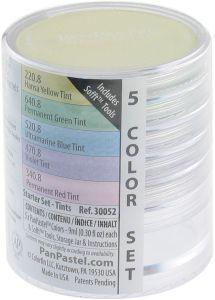 Pan Pastel Tints Starter Colour Set of 5