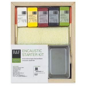 R&F Encaustic Paints Starter Kit