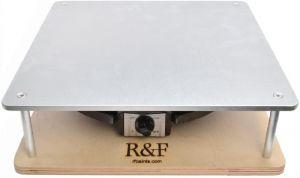 R&F Handmade Paints Heated Encaustic Art Palette, 12 by 12-Inch