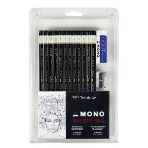 Tombow Mono Professional Drawing Pencils Set 12
