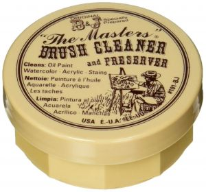 """General """"The Masters"""" Brush Cleaner and Preserver 2.5 oz"""