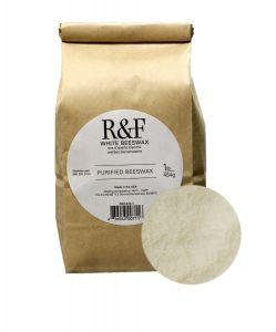 R&F White Beeswax 1lb (454g) bag