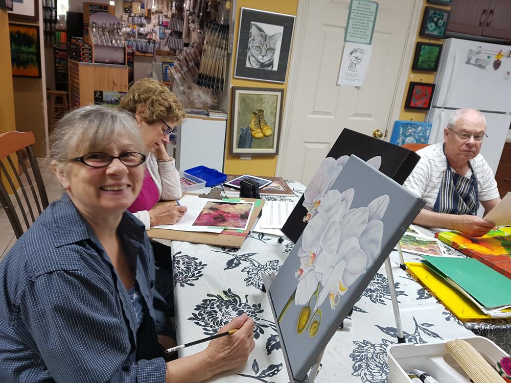 Tuesday - Open Studio Art Class