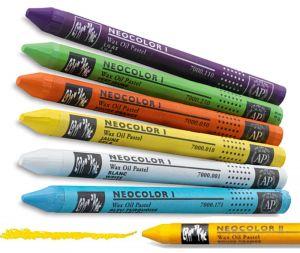 baskets pour pas cher 1d65b d8433 Caran d'Ache Neocolor l Wax Oil Pastels Crayons
