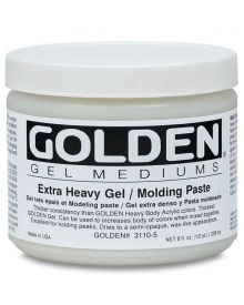Golden Extra Heavy Gel/Molding Paste - Matte 8oz