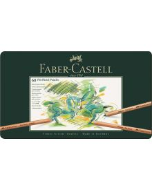 Faber-Castell Pitt Pastel Pencil, tin of 60