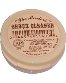"General ""The Masters"" Brush Cleaner and Preserver Mini 0.25 oz"