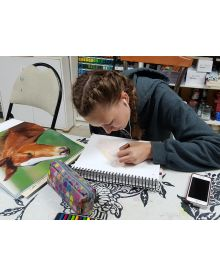 Open Studio Art Class: We will learn how to draw, then learn the medium of your choice. Instructor: Lise King is a mixed media artist and loves them all.
