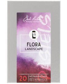 Richeson Hand Rolled Soft Pastel Flora Landscape 20pc Set