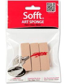 Sofft Tool Art Sponge Bar Flat Pack of 3