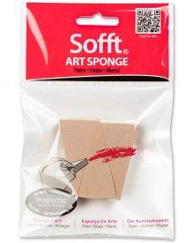 Sofft Tool Art Sponge, Wedge Sponge Bars Pack of 3