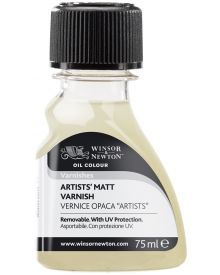 Winsor Newton Artists' Matt Varnish 75ml