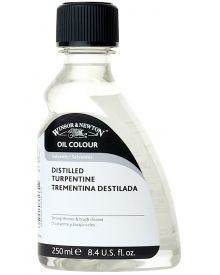 Winsor & Newton Distilled Turpentine 250ml