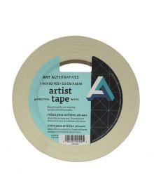 """Art Alternatives Artist Tape White 1"""" Wide x 60 yds"""