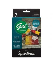Speedball Akua Gel Printing Kit 7 Piece