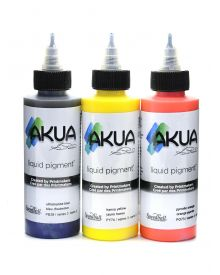 Akua Liquid Pigment Individual 4oz Bottles