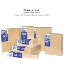 Ampersand Value Series Birch Wood Panel Value Packs