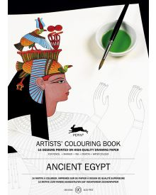 ANCIENT EGYPT: Artists' Colouring Books - Paperback