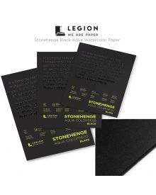 Legion Stonehenge Aqua Black Watercolour Pads