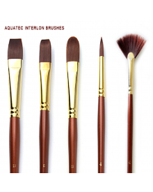 Aquatec Interlon Oil and Acrylic Brushes