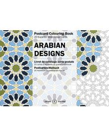 ARABIAN DESIGNS: PEPIN POSTCARD COLOURING BOOK