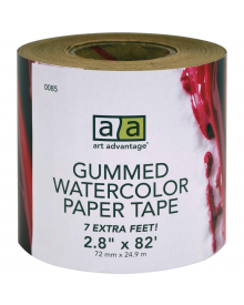 "Art Advantage Gummed Paper Tape 2"" x 82'"