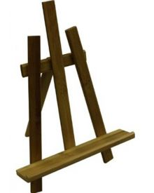 Art Advantage Bamboo Table Display Easel