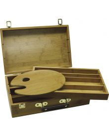 "Art Advantage Bamboo Sketch Box 9"" W x 14"" L x 3.5"" D"