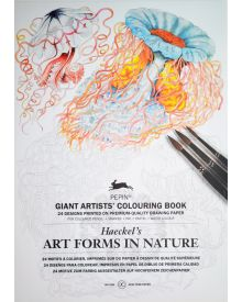 New PEPIN GIANT Colouring Books - ART FORMS IN NATURE
